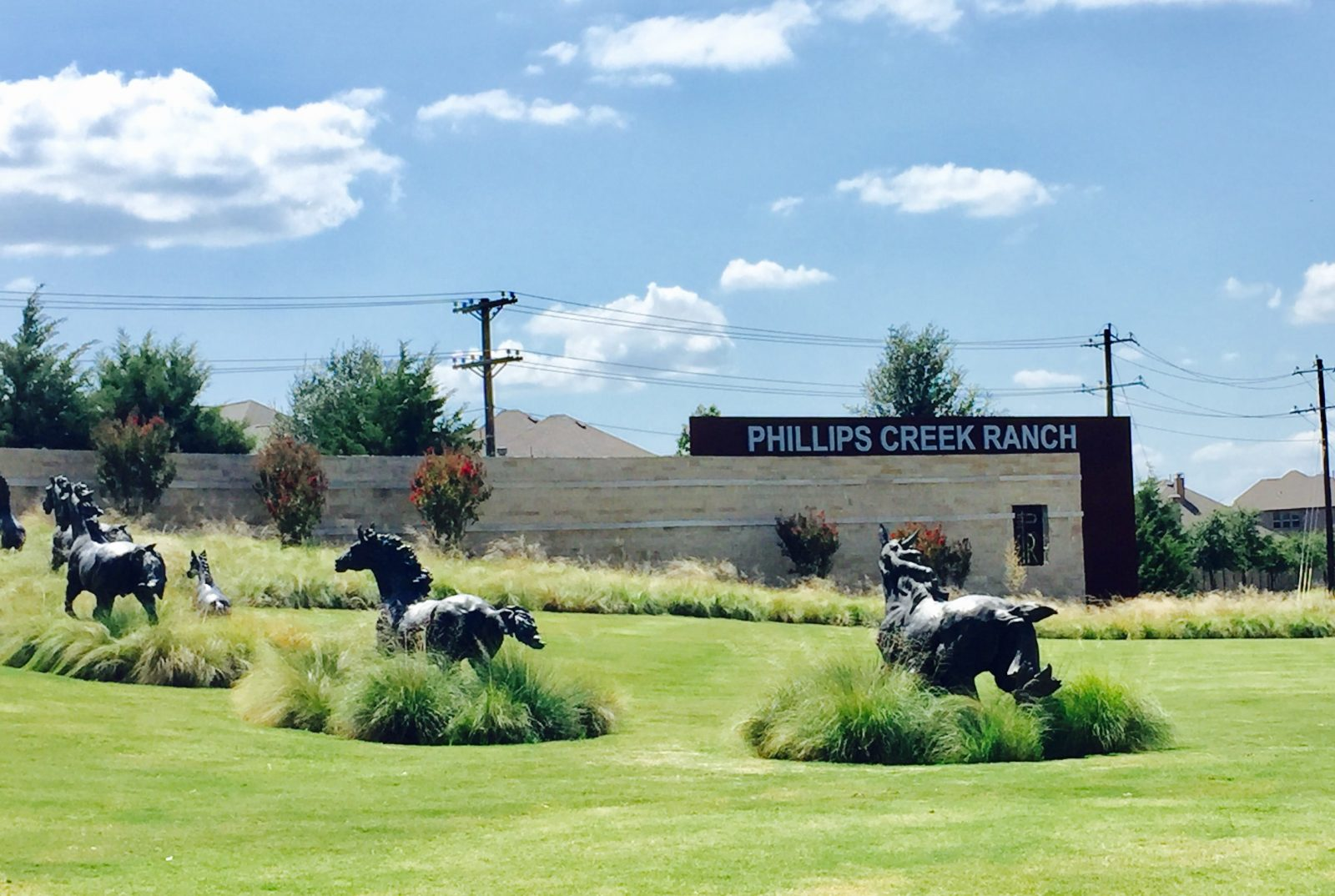 phillips-creek-ranch-frisco-entrance-horses