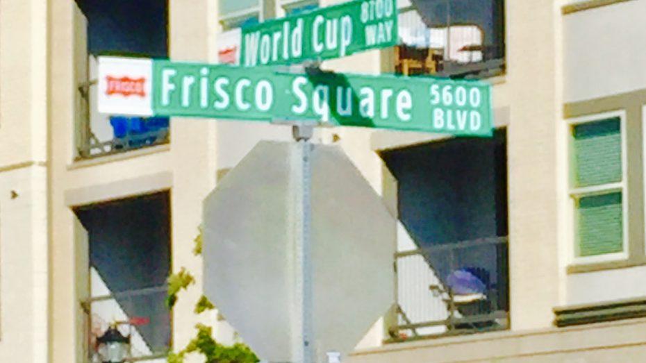 Frisco-Square-sign