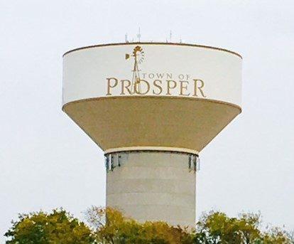 Prosper-Texas-water-tower-outdoor