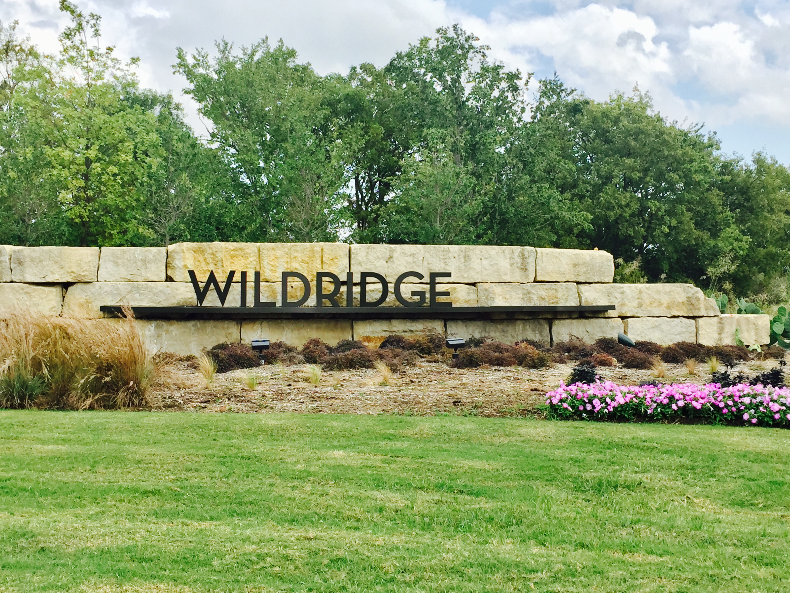 Wildridge Oakpoint Entrance Sign 3