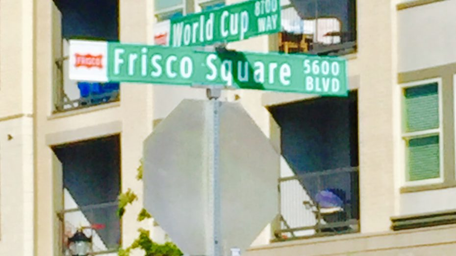 Frisco-Square-sign