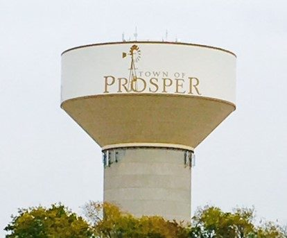 Prosper-Texas-water-tower-outdoor