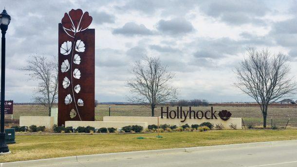 Hollyhock-sign
