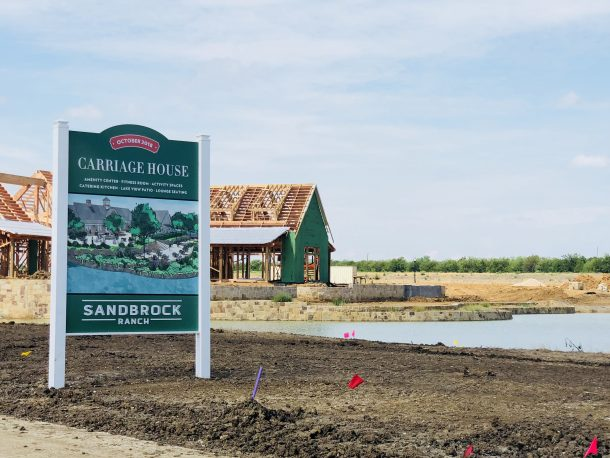 Sandbrock_Ranch_Aubrey_carriage_house_sign