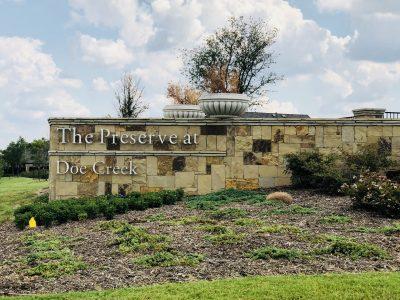 The_Preserve_at_Doe_Creek_Prosper_entrance_sign
